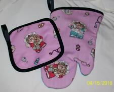 Nurse Great Gift Oven MItt and Hot Pad Pot Holder Set