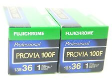 2 x FUJICHROME PROVIA 100F 35mm 36 EXP CHEAP SLIDE FILM by 1st CLASS ROYAL MAIL