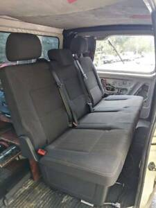 Multivan T6/T5 Rear Folding Bench Seat and boot cover