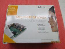 *NEW* LSI 8704EM2 L3-01144-09C MegaRAID SATA/SAS PCIe x8 RAID 0 1 5 6 Card