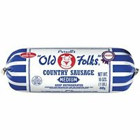Purnell's Old Folks Country Sausage 16 Oz (4 Pack)