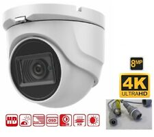 8Mp 4k Hd Cvi 2.8mm Ir Dome Security Camera 4k over Coax -4k Cvi Dvrs Only!-