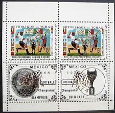 Chad Souvenir Sheet - MUNICH Football 1974 - MNH.