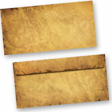 Sonstige Versandtaschen & -DIN-Lang gewerbliche Briefumschläge Braun/Goldgelb