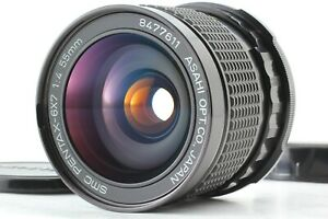 【MINT】 SMC PENTAX 6x7 55mm f/4 Wide Angel MF Lens for 6x7 67 II from JAPAN