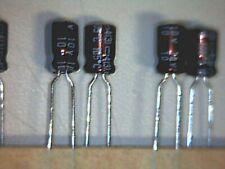 50x Elko 10uF 10V 105° Nippon ChemiCon KRE Kondensator Capacitor