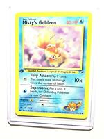 MISTY'S GOLDEEN - 1st Edition Gym Heroes  - 85/132 - Common - Pokemon - NM
