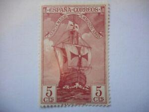 1930 Stamp Spain Columbus Santa Maria 5 CTS MNH OG