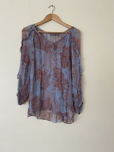 Sussan Size 12 Long Sleeve Top New Without Tag
