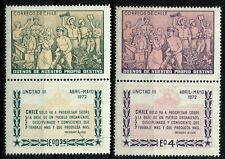CHILE, UNCTAD III, YEAR 1972, COMPLETE SET, MNH