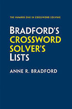 Collins Bradford's Crossword Solver's Lists by Anne R. Bradford (Paperback,...