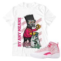 Shirt for Air Jordan 12 ''Ice Cream'' Unisex T-Shirt |By Any Means-White Shirt