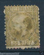 Netherlands Holland stamp 1867 50c Fifty Cents  SB2
