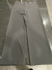 Giorgio Armani Dark Brown Black Classic High Waisted Pants Trousers Size 44 EUC