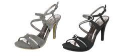 Damen-Pumps mit Pfennig -/Stilettoabsatz im Stilettos-Stil mit Strass