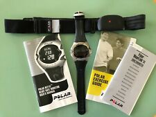 Polar Heart Rate Moniter, M71ti, with WearLink 31 Transmitter-All new batteries