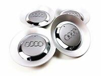 SET 4 150mm Gray Wheel Center Hub Cap 8E0601165 for Audi A4 B6 B7 16INCH 5 SPOKE