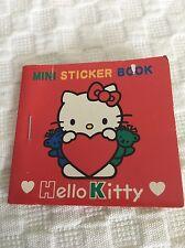 1995 Hello Kitty Mini Sticker Book Sanrio Vintage Complete