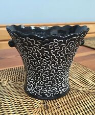 sylvaC 2270 Beautiful Black & White Vase