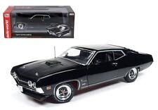AUTO WORLD 1:18 AMERICAN MUSCLE 1970 FORD TORINO COBRA DIECAST CAR MODEL AMM1085
