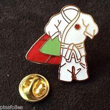 Pin's Folies *** Enamel badge Judo  Limited edition 125 ex.Ceinture Blanche
