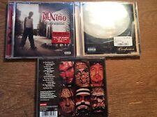 Ill Nino [3 CD Alben] Confession  + Revolution Revolucion + One Nation Undergrou