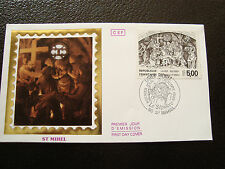 FRANCE - enveloppe 1er jour 15/10/1988 (le sepulcre st mihel)(cy40) french