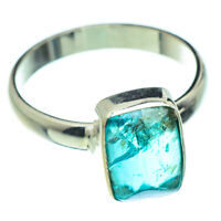 Blue Fluorite 925 Sterling Silver Ring Size 8 Ana Co Jewelry R47653F