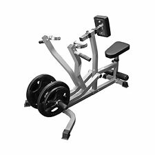 Valor Fitness Exercise Equipment Seated Row Chest Pull CB-14 Pewter/Black New