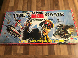 Vintage 1970's Action Man - Board Game By Palitoy - Original and Complete