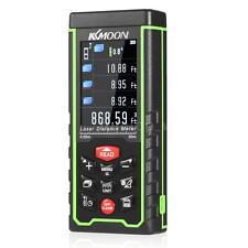 KKmoon 50m Handheld Digital Laser Distance Meter Range Finder Diastimeter W5I8