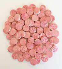 PINK Mosaic Tile Circles