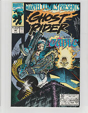 MARVEL COMICS PRESENTS #90 SIGNED BY BUD LAROSA INKER GHOST RIDER CABLE 1991 NM