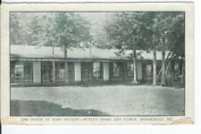 CA-249 ME, Moosehead Log Cabin East Outlet House and Camps Divided Back Postcard