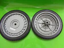 """2-PK. AYP/Sears Craftsman 10426 10"""" X 1.75"""" 57 teeth Gear Wheel/Tire Grey, NEW"""