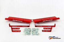 Hurricane V-Plow Red AIR FOIL KIT - Powder Coat Finish