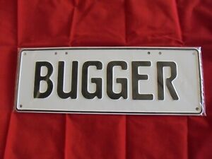 Novelty Number Plates Variety