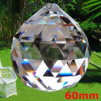 60mm hängen Kristall Sonne Catcher Ball Feng Shui Regenbogen Prisma Mobile Wind