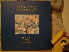 IDEA FIRE COMPANY Rags To Riches LP/2003-2005/The Shadow Ring/OOP/Ed.of 285/NEW!