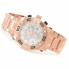 Invicta Mens Reserve Speedway Swiss Chronograph MOP Dial 18k Watch 15767