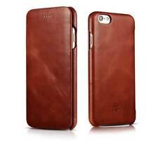 Fundas y carcasas lisos Para iPhone 6 de piel para teléfonos móviles y PDAs