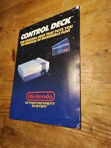 Nintendo Entertainment System NES Console Control Deck Manual Instructions