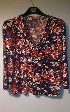 Stretch jersey top size  Large