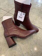Bershka Ladies Boots Bugandy Uk 5