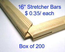 "Art Canvas Stretcher Bars/Stretching Strips 16"" (200 units)"