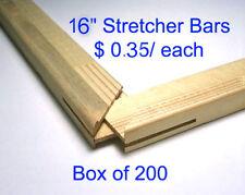 "Art Canvas Stretcher Bars//Stretching Strips 18/"" Bundle of 50"