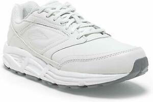 Brooks Addiction Walker Walking Shoes Womens - White - D Width (Wide)