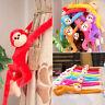 Colorful Long Arm Monkey Hanging Soft Plush Doll Stuffed Animal Kids Baby Toy UK