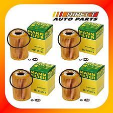 4Pack OEM BMW Oil Filter Mann-Filter HU 715/4x Z3, 318i, 318ti, 318is 1999-1996