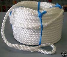 8mm x 100Mtr Silver Anchor Rope